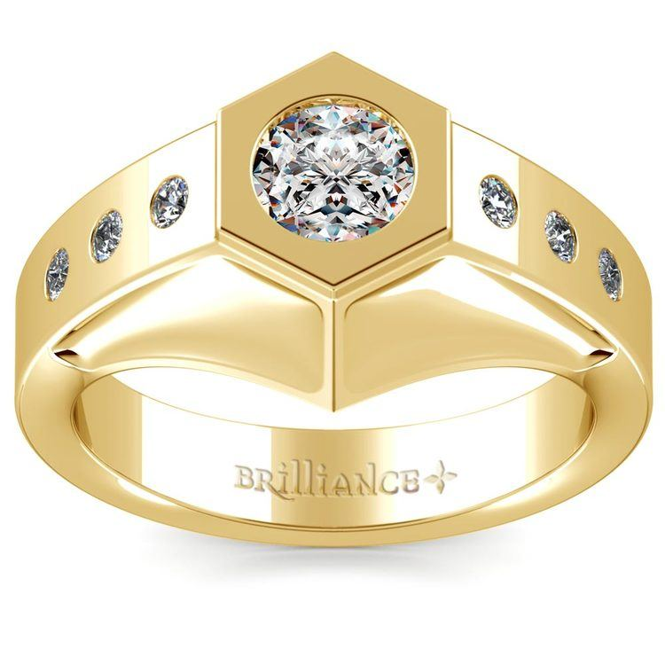 Magnus II Solitaire Mangagement™ Ring in Yellow Gold (3/4 ctw) | 02