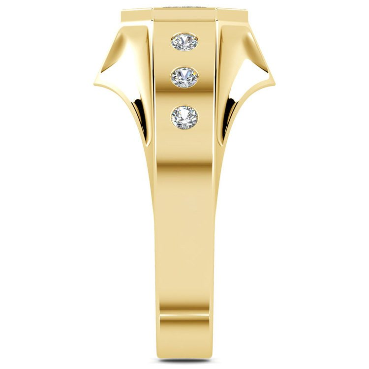 Magnus II Solitaire Mangagement™ Ring in Yellow Gold (3/4 ctw) | 04