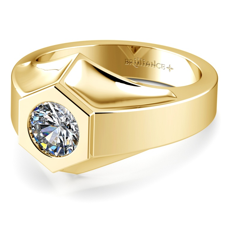Magnus Solitaire Mangagement™ Ring in Yellow Gold (1 ctw) | 04