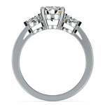 Marquise Diamond Engagement Ring in Platinum (1/4 ctw) | Thumbnail 02
