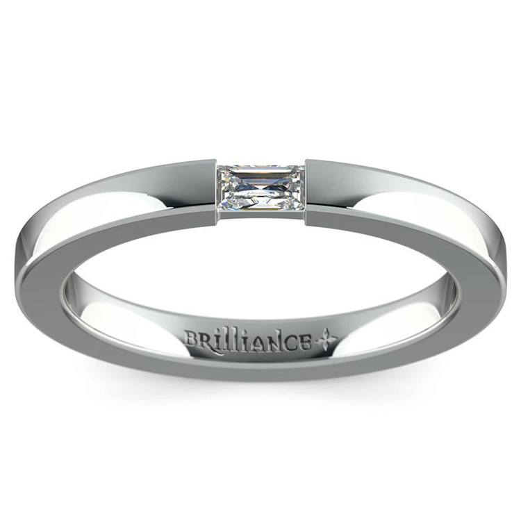 Men's Engagement Ring with Baguette Diamond | 03
