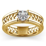 Narcissus Solitaire Mangagement™ Ring in Yellow Gold (1 ctw) | Thumbnail 01
