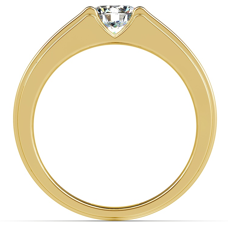 Narcissus Solitaire Mangagement™ Ring in Yellow Gold (1 ctw) | 02