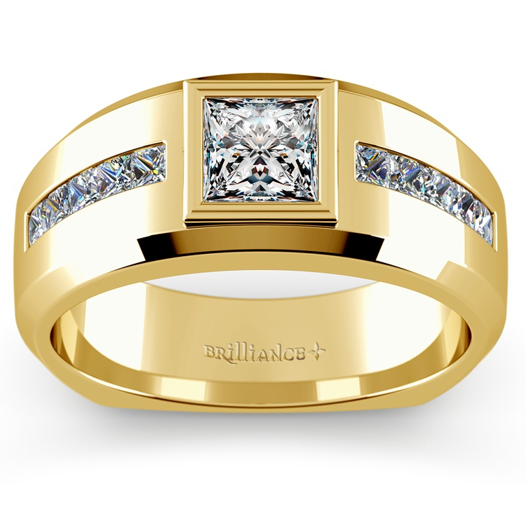 Orion Diamond Mangagement™ Ring in Yellow Gold (1 1/6 ctw) | 01