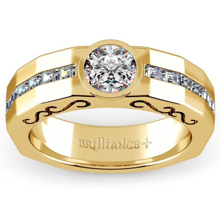 Orpheus Diamond Mangagement™ Ring in Yellow Gold (1 1/2 ctw) | 01