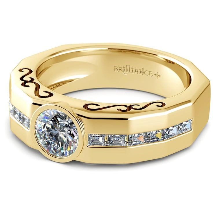 Orpheus Diamond Mangagement™ Ring in Yellow Gold (1 1/2 ctw) | 04