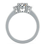 Oval Diamond Engagement Ring in Platinum (1/3 ctw) | Thumbnail 02