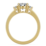 Oval Diamond Engagement Ring in Yellow Gold (1/3 ctw) | Thumbnail 02