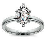 Oval Solitaire Engagement Ring (0.25 Carat Diamond) | Thumbnail 02
