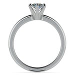 Oval Solitaire Engagement Ring (0.25 Carat Diamond) | Thumbnail 04