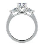 Pear Diamond Engagement Ring in Platinum (1/2 ctw) | Thumbnail 02