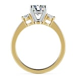 Pear Diamond Engagement Ring in Yellow Gold (1/4 ctw) | Thumbnail 02