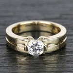 Perses Solitaire Mangagement™ Ring in Yellow Gold (1/2 ctw) | Thumbnail 05