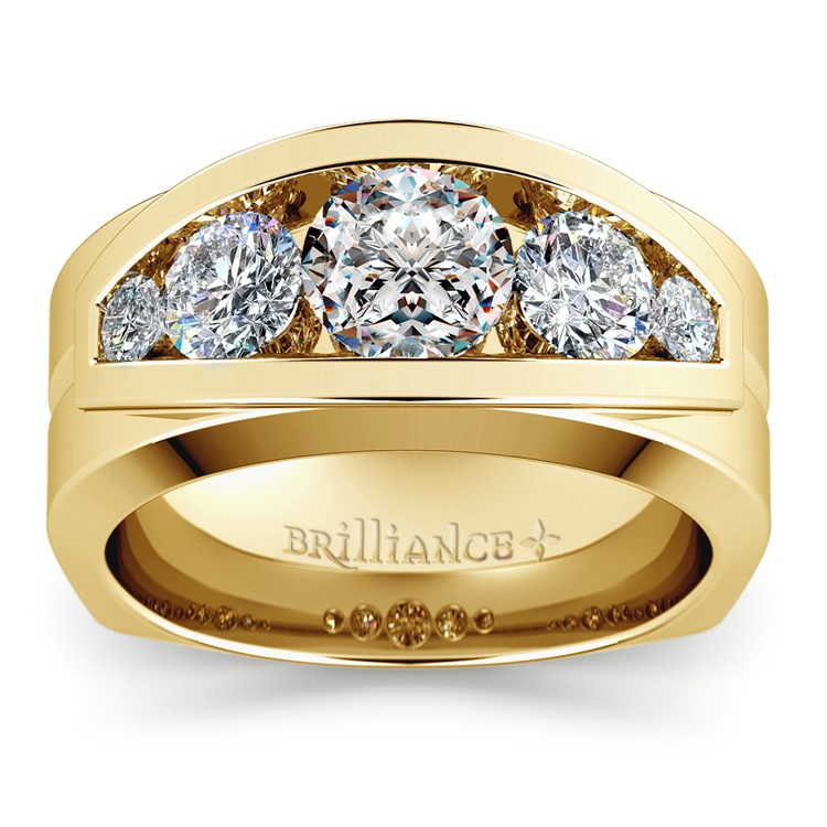 Perseus Diamond Mangagement™ Ring in Yellow Gold (2 1/5 ctw) | 02