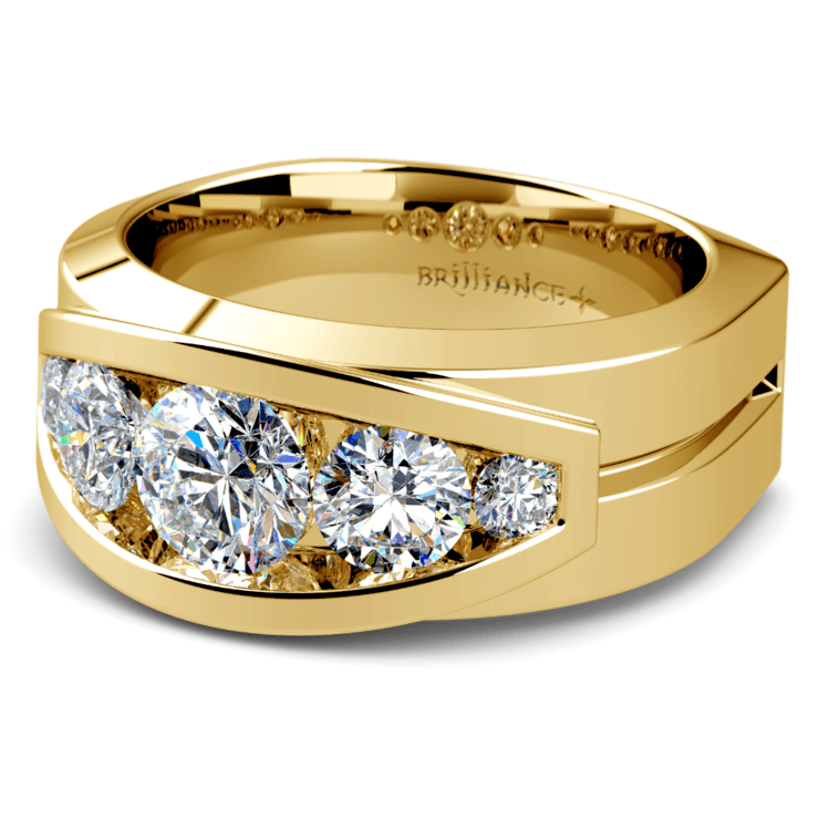 Perseus Diamond Mangagement™ Ring in Yellow Gold (2 1/5 ctw) | 01