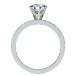 Petite Pave Diamond Bridal Set in Platinum   Thumbnail 02