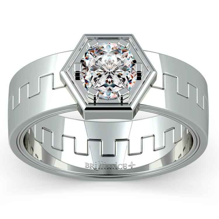 Pollux Solitaire Mangagement™ Ring (1 ctw) | 01