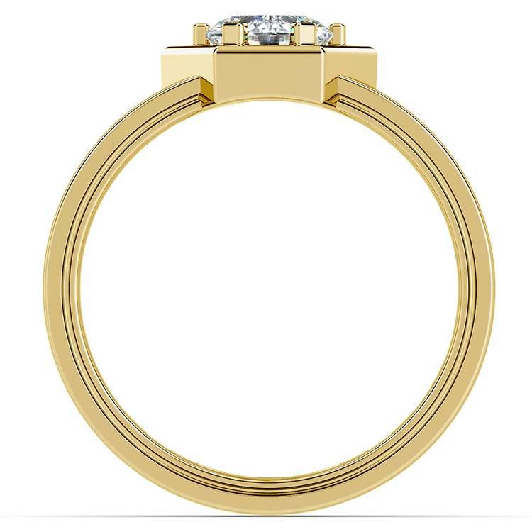 Pollux Solitaire Mangagement™ Ring in Yellow Gold (1 ctw) | 02