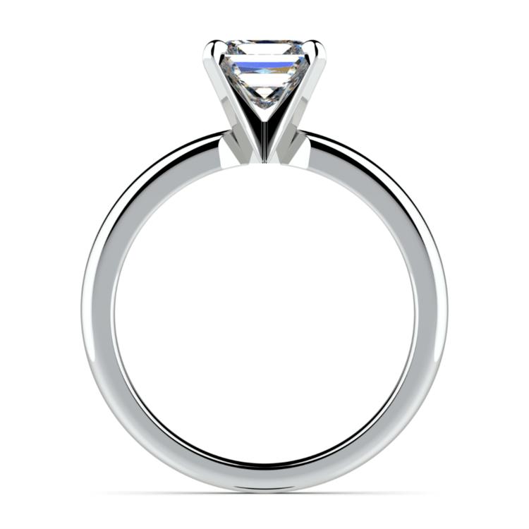 Princess Diamond Preset Engagement Ring in Platinum (1/2 ctw)   03