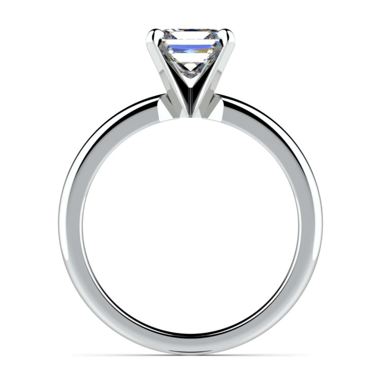 Princess Diamond Preset Engagement Ring in Platinum (1/3 ctw) | 03