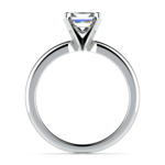 Princess Diamond Preset Engagement Ring in Platinum (1/4 ctw) | Thumbnail 03