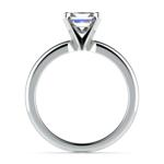 Princess Diamond Preset Engagement Ring in Platinum (1 ctw) | Thumbnail 03