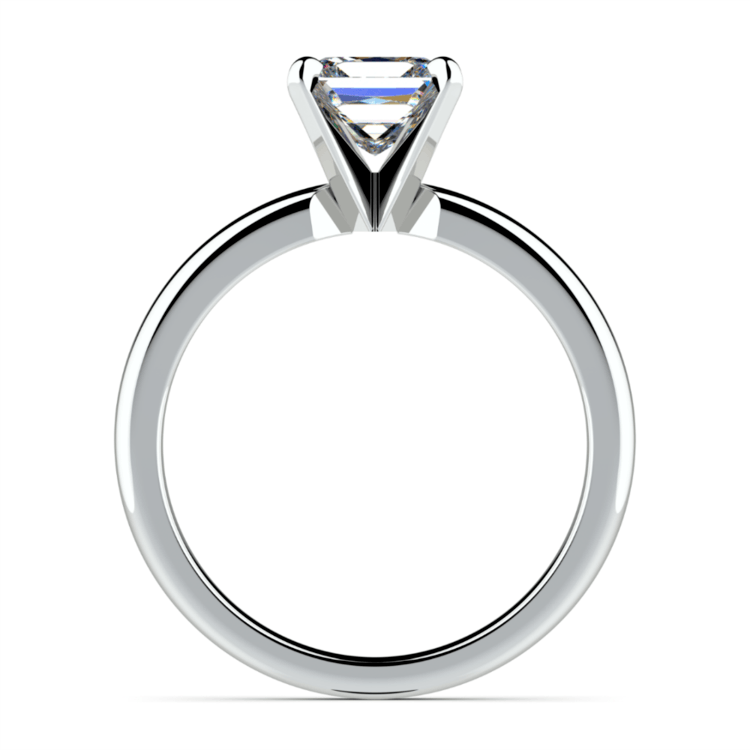 Princess Diamond Preset Engagement Ring in Platinum (3/4 ctw) | 03
