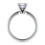 Princess Diamond Preset Engagement Ring in White Gold (1/2 ctw) | Thumbnail 03