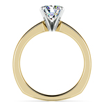Rocker (European) Solitaire Engagement Ring in Yellow Gold | Thumbnail 02