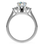Round Diamond Engagement Ring in Platinum (1/3 ctw) | Thumbnail 02