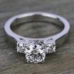 Round Diamond Engagement Ring in Platinum (1/3 ctw) | Thumbnail 05