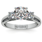 Round Diamond Engagement Ring in White Gold (1/3 ctw) | Thumbnail 01