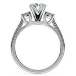 Round Diamond Engagement Ring in White Gold (1/3 ctw) | Thumbnail 02