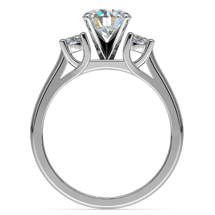 Round Diamond Engagement Ring in White Gold (1/3 ctw) | 02