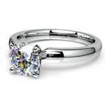 Round Diamond Preset Engagement Ring in White Gold (1/2 ctw) | Thumbnail 01