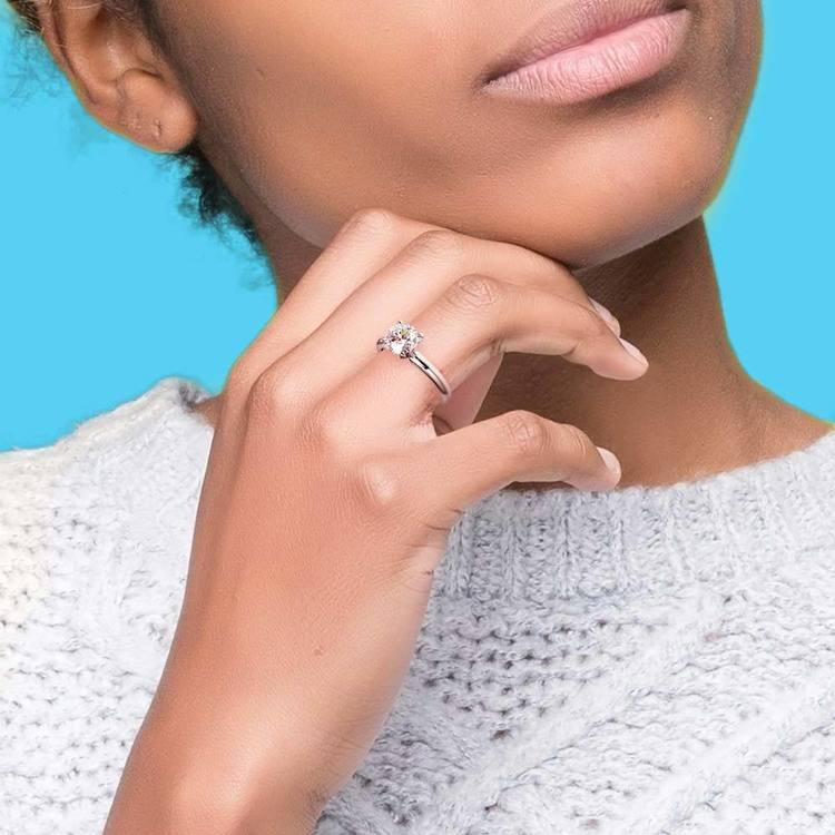 Classic Solitaire Diamond Engagement Ring (0.75 ctw) | 06