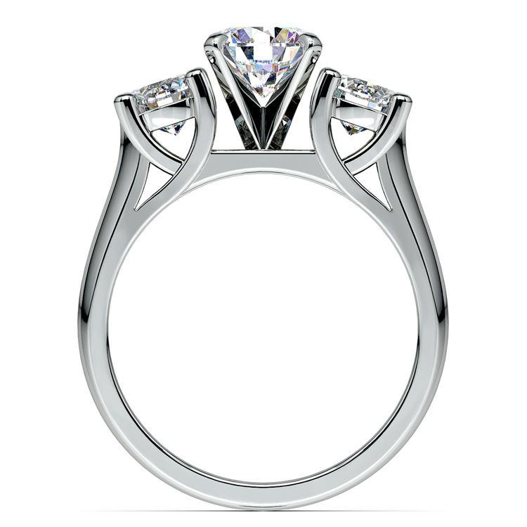 Round Diamond Engagement Ring in Platinum (1 ctw) | 02