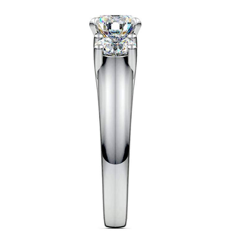 Round Diamond Engagement Ring in Platinum (1 ctw) | 03