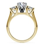 Round Diamond Engagement Ring in Yellow Gold (1 ctw) | Thumbnail 02