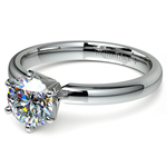 Six-Prong Solitaire Engagement Ring in White Gold (2.5 mm) | Thumbnail 04