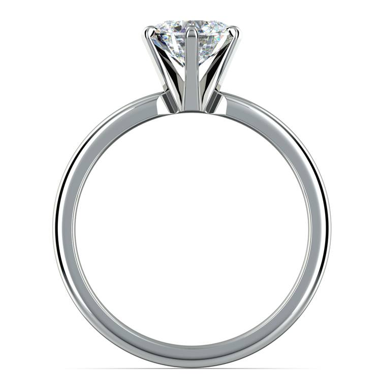 Six-Prong Solitaire Engagement Ring in Platinum | 02