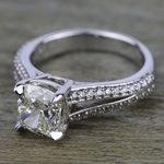 Split Shank Diamond Engagement Ring in Palladium | Thumbnail 05