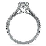 Split Shank Diamond Engagement Ring in Platinum | Thumbnail 02