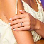 Split Shank Diamond Engagement Ring in White Gold   Thumbnail 07