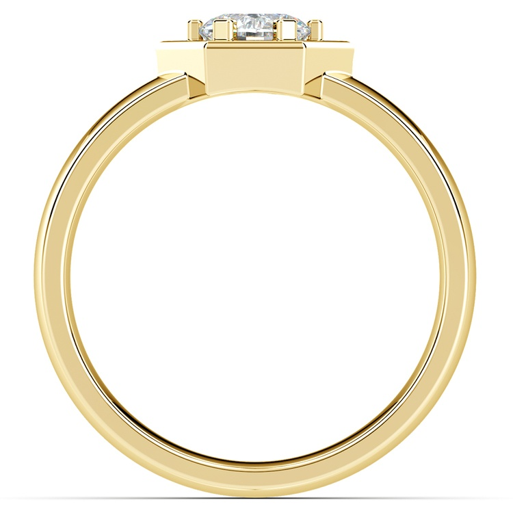 Talos Solitaire Mangagement™ Ring in Yellow Gold (3/4 ctw) | 02