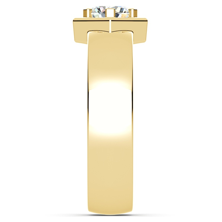 Talos Solitaire Mangagement™ Ring in Yellow Gold (3/4 ctw) | 03