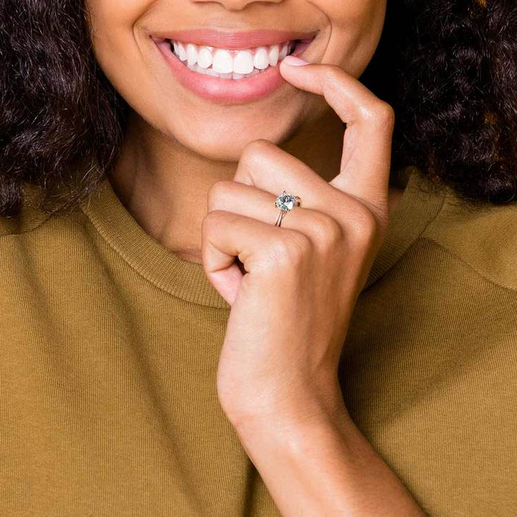 Taper Solitaire Engagement Ring in Yellow Gold | 06