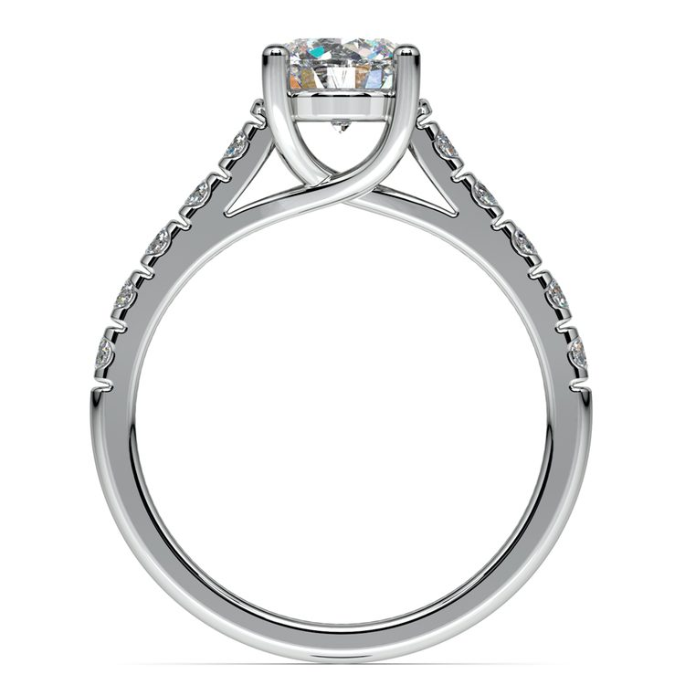Trellis Diamond Engagement Ring in Platinum | 02