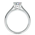 Trellis Solitaire Engagement Ring in White Gold   Thumbnail 02
