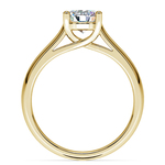 Trellis Solitaire Engagement Ring in Yellow Gold | Thumbnail 02